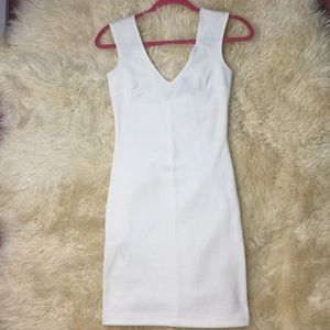 NWT F21 White Bodycon Dress