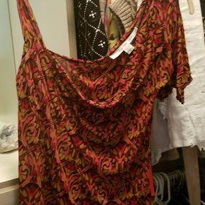 Pure silk Diane Von Furstenberg feminine off-the-s