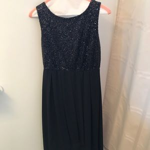 Lulu's Black Sparkle Dress. (Worn one time)