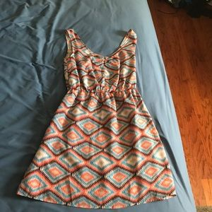 Ark & co tribal print dress