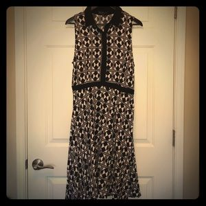 Eloquii Geometric Sleeveless Dress - EUC - Sz 14
