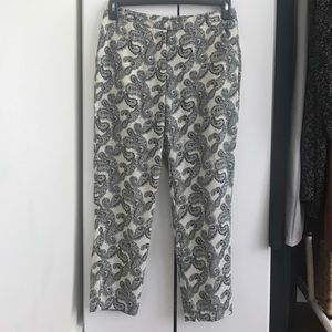 Bandana print crop pants