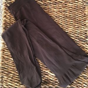"""Assets """"red hot label"""" brown tights by SPANX"""