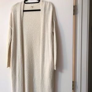 Silence + Noise Open Front Maxi Cardigan