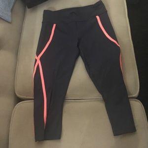 Gray fitness workout leggings