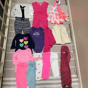 Other - Lot of 16 0-3m & 3m baby girl winter clothes
