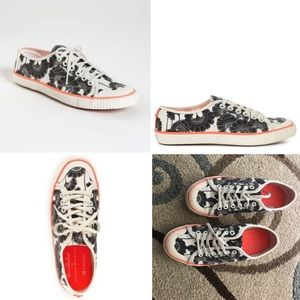 Kate Spade NY Tretorn Floral Canvas Sneakers 7.5