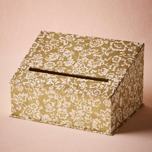 Anthropologie Other - BHLDN card box