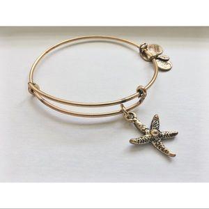 Alex and Ani Starfish Bangle Bracelet