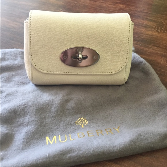 a1ecaf02e6 Mulberry Bags | Cream Mini Lily Silver Postman Lock | Poshmark