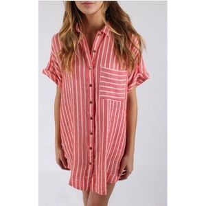 Free People Little Sway Shirt Dress