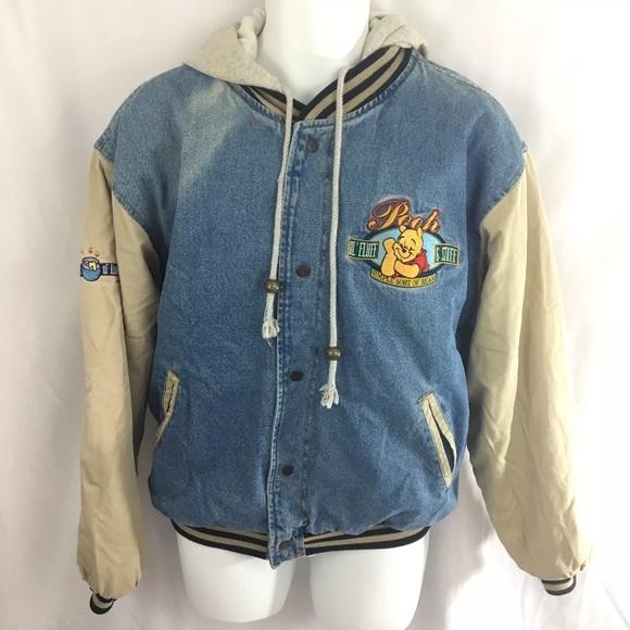 8c6a8cfa10ff Disney Other - Winnie The Pooh Varsity Jacket