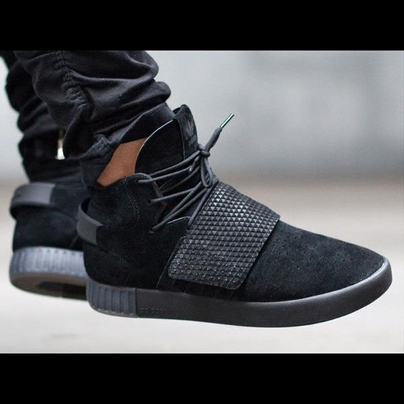 17ca7103e698 adidas Other - Men s Adidas Tubular Invader Strap Black Suede