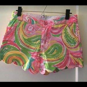Lilly Pulitzer Buttercup Shorts pink