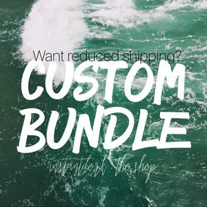 get discounted shipping with a personal bundle!