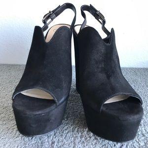 3246391b9 Jessica Simpson Shoes - Jessica Simpson REL Slingback Platform Block Heels