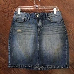 H&M Denim Mini Skirt