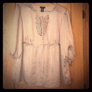 Tops - Plus size Apostrophe dress shirt