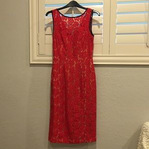 Red Dress ABS size 2