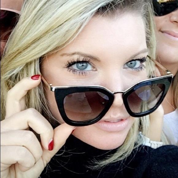 39162d3d0c58 Prada Cinema Sunglasses- Black & Gold. M_59c69c2b13302a071d07ab87