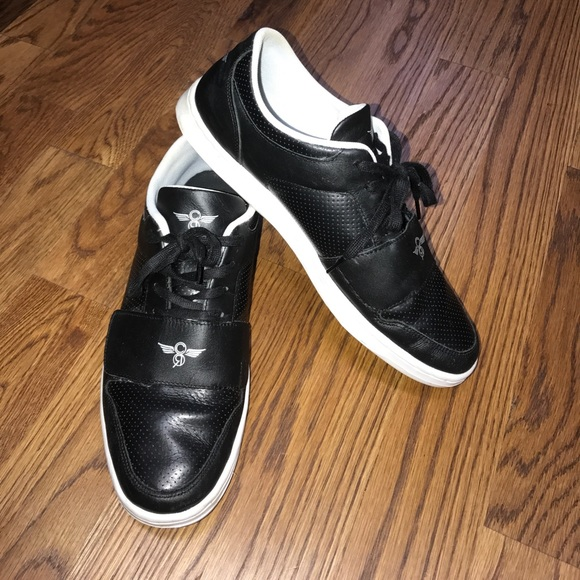 creative recreation shoes creative reaction black low top sneakers