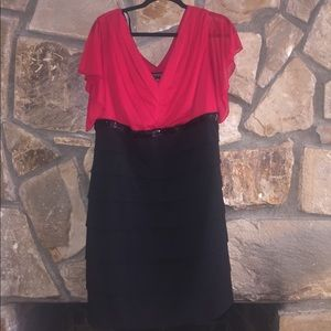 Dresses & Skirts - Red & Black Mini Dress