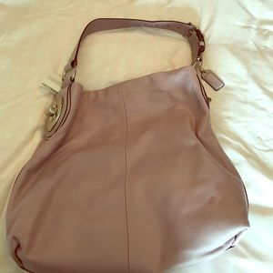 Lavender coach purse
