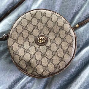 Gucci cross-body canteen bag