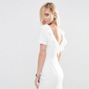 ASOS Ruffle Back Mini Dress