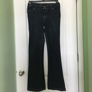 High Waist Flare Denim Jeans by the Limited