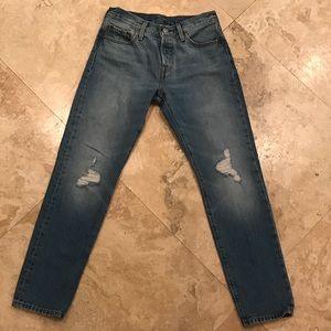 "Levi's 501 Denim Jeans (size 24""x 34"")"