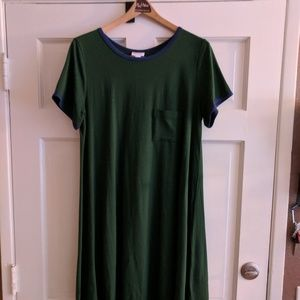 Lularoe Carly Dress- tshirt dress