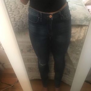 BDG denim jeans urban outfitters with rip at knee