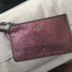 Coach wristlet, new without tags.