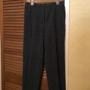 Sag Harbor Pants - Sag Harbor Ladies plaid dress pants
