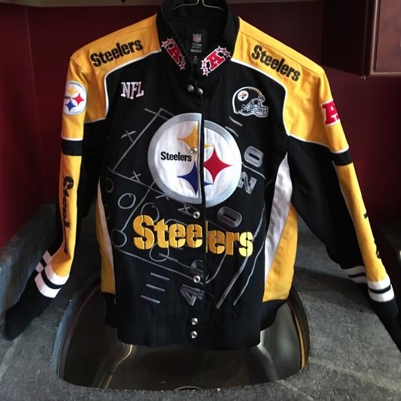 super popular a4ec5 16032 Kid's Steelers NFL TEAM APPAREL Reebok Jacket