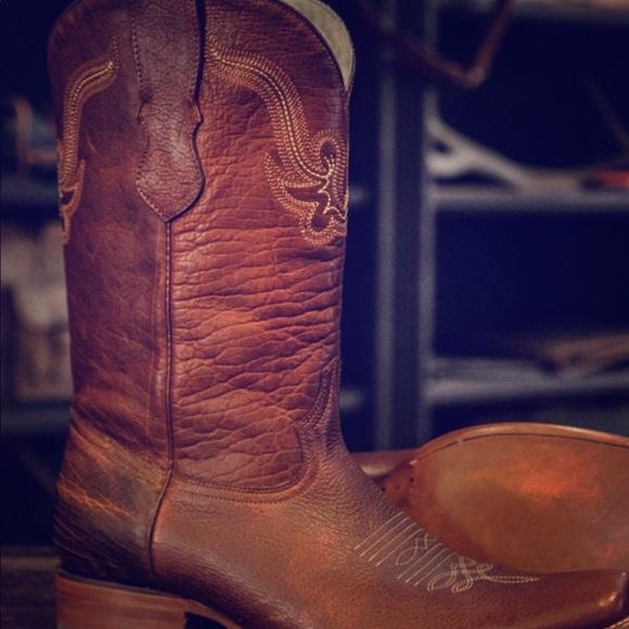 129658e2324 Buffalo Jackson Men's Ruidoso Bison Boot Sz. 11.5