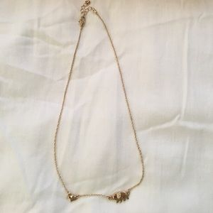 Elephant necklace Forever21