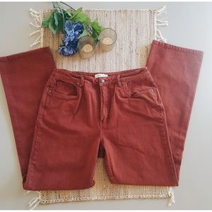 Coldwater Creek Rust Jeans