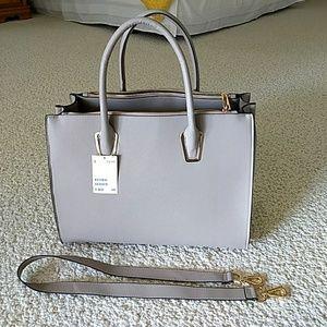 Gray H&M tote bag