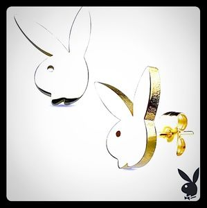 Women's playboy earrings