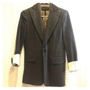 Brown BCBG textured blazer
