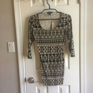 Forever 21 patterned mini dress