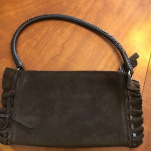 DKNY Suede Purse