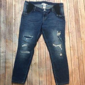 Pants - Liz Lange Small Distressed Jeans