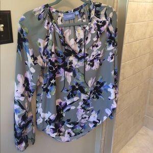 Vera Wang floral blouse