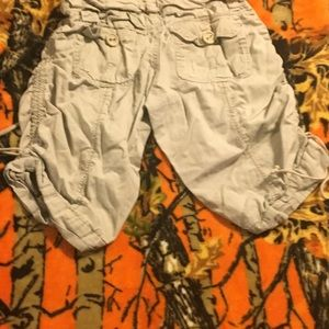 Other - Girls khaki shorts size 10--