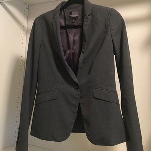 The Limited gray suit jacket