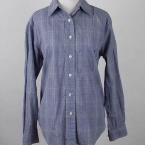 Ralph Lauren womens button dress shirt blue 10P