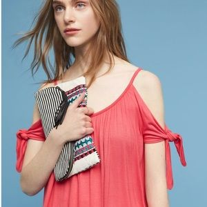 NWT Anthropologie cold shoulder top by Bailey44
